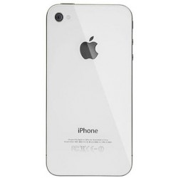 iPhone 4 Back Cover (White)