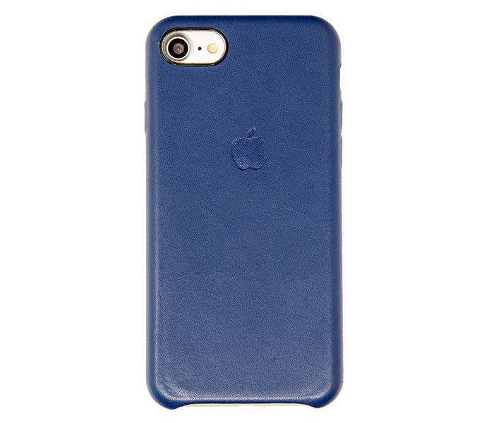 iPhone 7 / 8 Leather Case (Dark Blue)