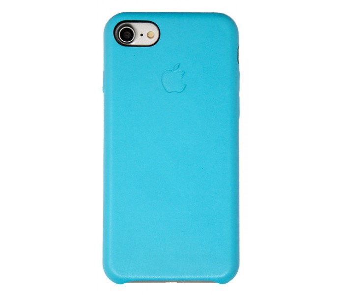 iPhone 7 / 8 Leather Case (Light Blue)
