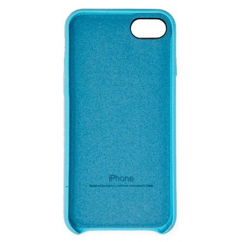 huge selection of 6b612 f5d81 iPhone 7 / 8 Leather Case (Light Blue)