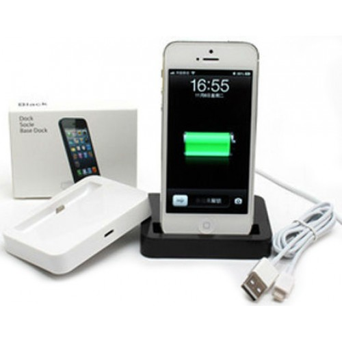 iphone 5 charging docking station black. Black Bedroom Furniture Sets. Home Design Ideas