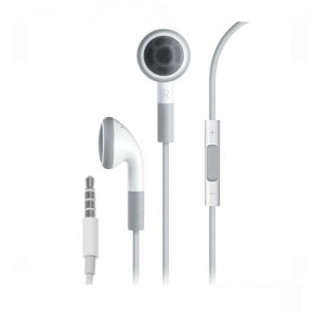 iPhone 3 & 4 Earphone with Mic. & Volume Control (Original)
