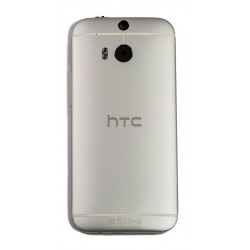 HTC One M8 Back Housing Cover - Silver