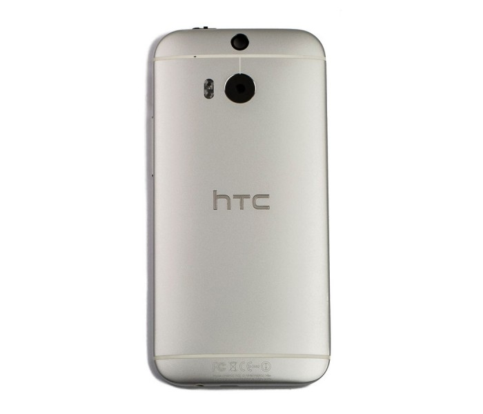 cheap for discount 5d60b 533e7 HTC One M8 Back Housing Cover - Silver