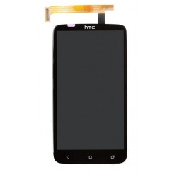HTC One X LCD Touch Screen Digitizer (Black, Original)