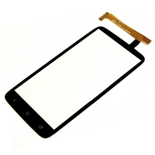 HTC One X Touch Screen Glass Digitizer (Black, Original)