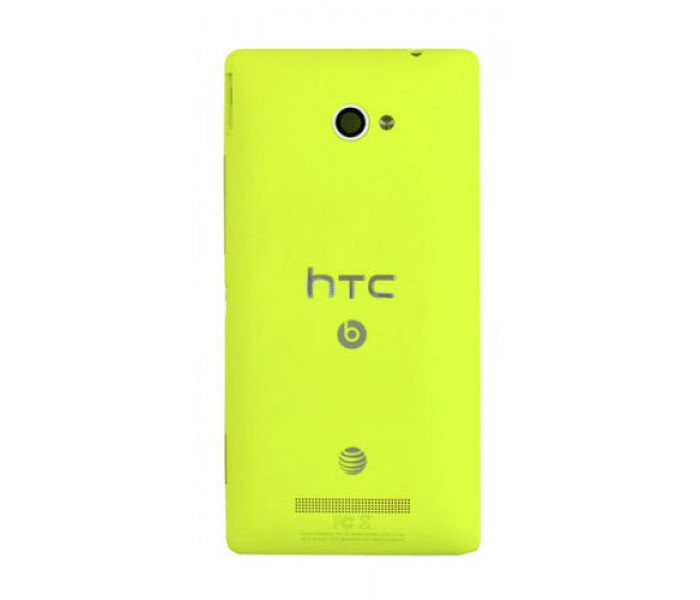 HTC Windows Phone 8X Back Cover Replacement - Yellow