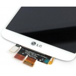 LG G2 LCD Digitizer Touch Screen - White, Original