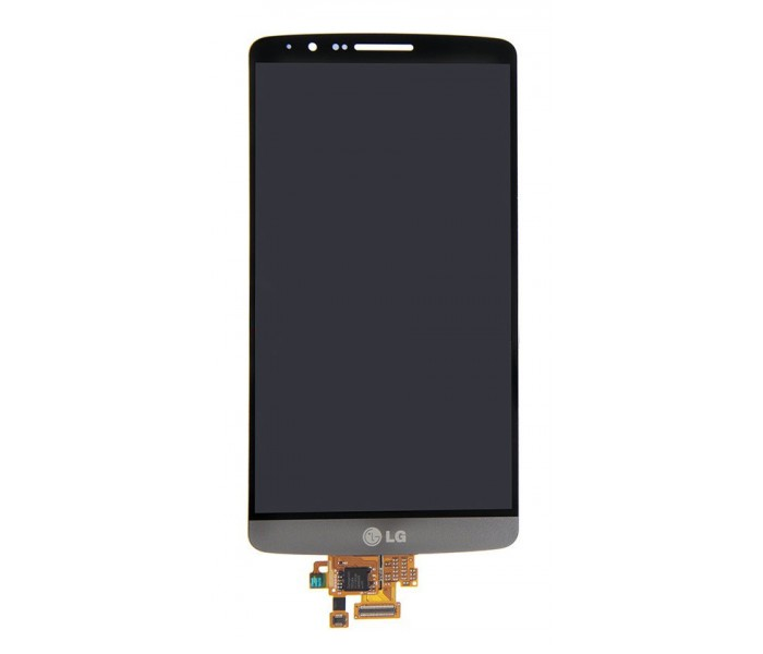 LG G3 LCD Digitizer Touch Screen - Black, Original