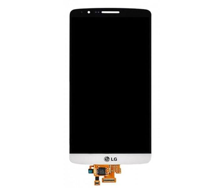 LG G3 LCD Touch Screen Digitizer - White, Original
