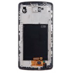 LG G3 LCD Touch Screen Digitizer + Front Frame (White, Original)