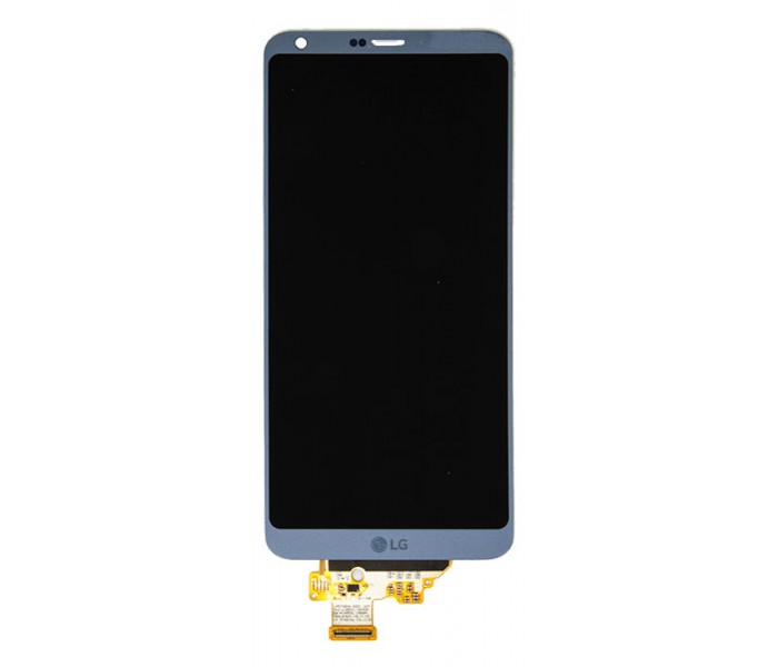 LG G6 LCD Screen & Touch Digitizer Replacement - Platinum Silver
