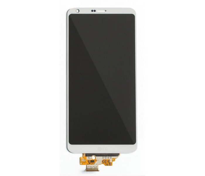 LG G6 LCD Screen & Touch Digitizer Replacement - White