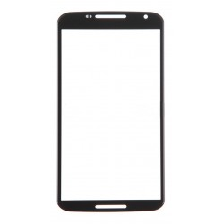 Motorola Nexus 6 Front Screen Glass Lens (Black)