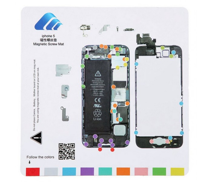 Repair X U00ae Apple Iphone 7 Plus Repair Guide Magnetic Screwmat Wiring Diagram