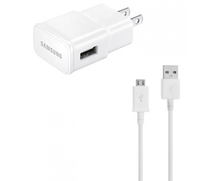 Samsung EP-TA20JWE Fast Wall Charger w/ Micro-USB Cable
