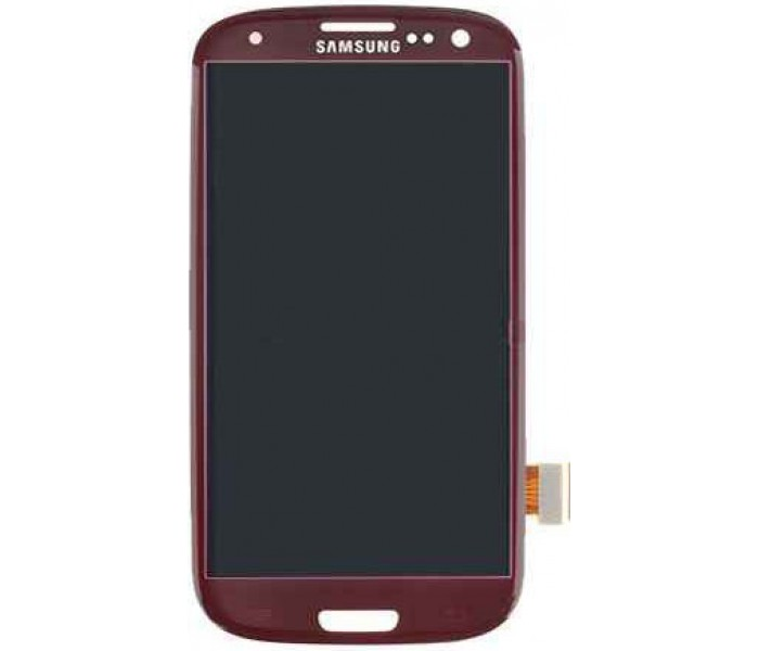 Samsung Galaxy S3 LCD Digitizer Touch Screen - Red