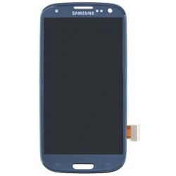 Galaxy S3 Front Screen Digitizer Touch Screen - Blue, Original
