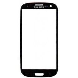 Galaxy S3 Front Screen Glass (Black)