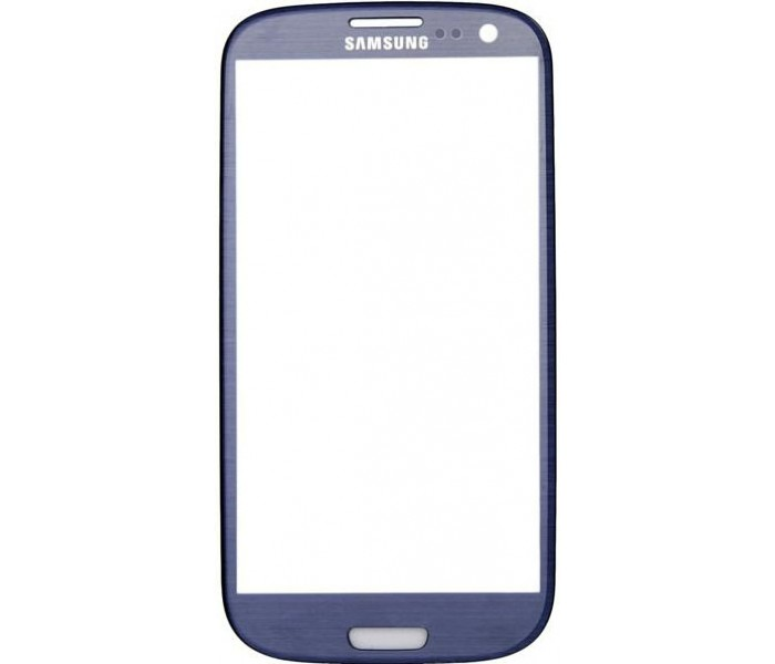 Galaxy S3 Front Screen Glass Replacement (Blue)