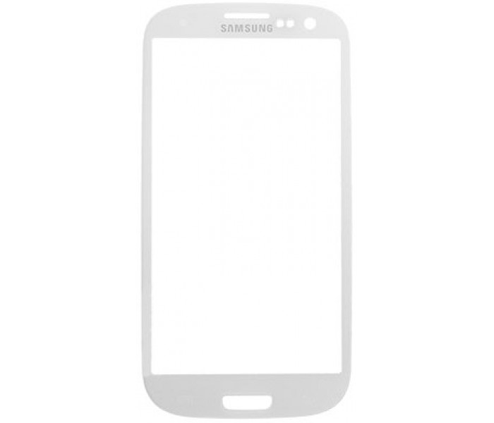 Galaxy S3 Front Screen Glass Replacement (White)