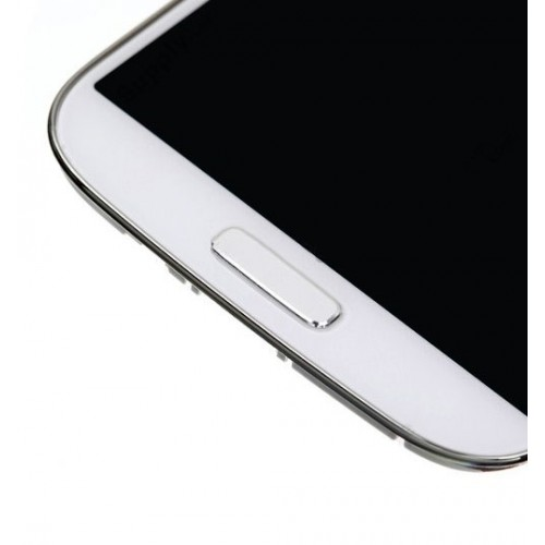 Samsung Galaxy S4 LCD Screen & Digitizer with Frame - White