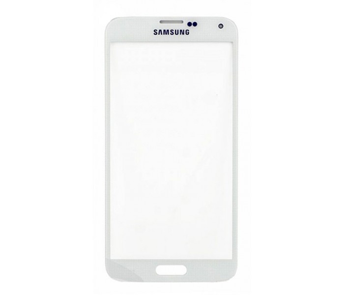 Samsung Galaxy S5 Screen Glass Lens (White)