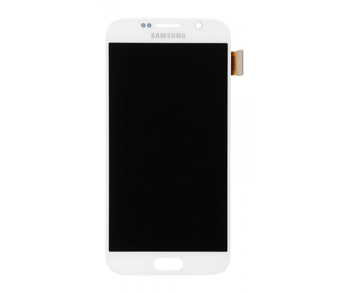 Samsung Galaxy S6 LCD Digitizer Touch Screen - White, Original