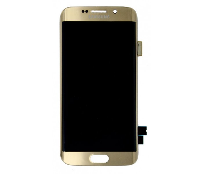 Samsung Galaxy S6 Edge LCD Screen Replacement (Gold)
