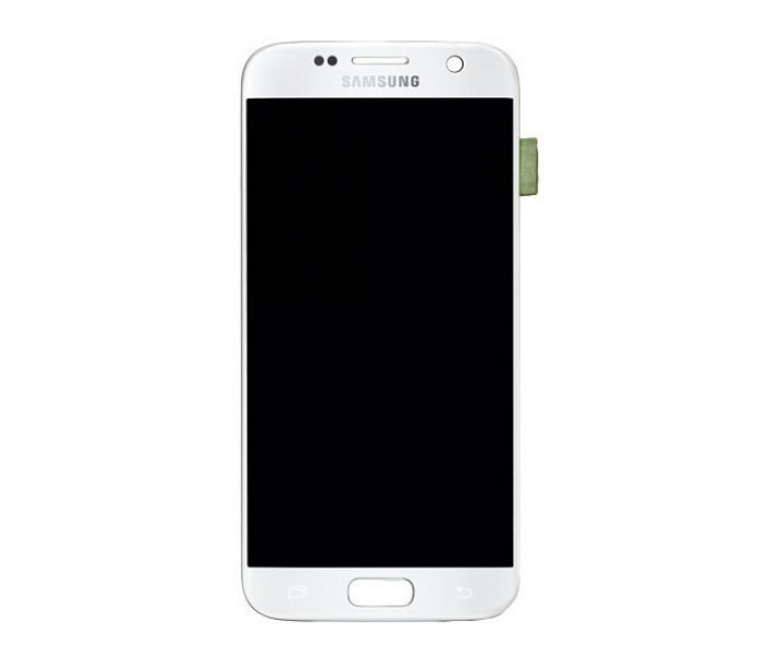 Samsung Galaxy S7 LCD Digitizer Touch Screen - White, Original
