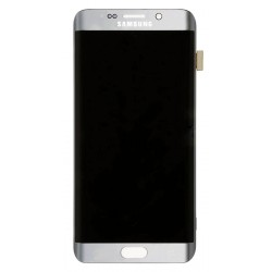 Samsung Galaxy S7 Edge LCD Screen & Touch Digitizer (Silver, Original)