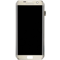 Samsung Galaxy S7 Edge LCD Screen & Digitizer (Gold, Original)