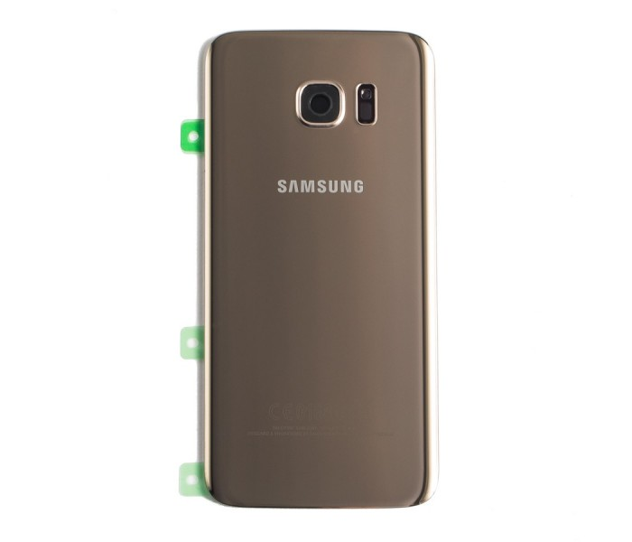Samsung Galaxy S7 Edge Back Glass (Gold)