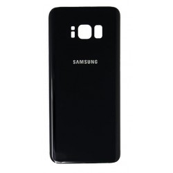 Samsung Galaxy S8 Back Glass (Midnight Black)