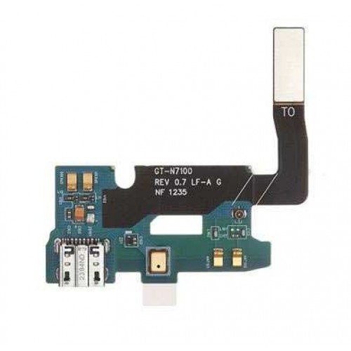 galaxy note 2 samsung galaxy note 2 charging usb port flex cable