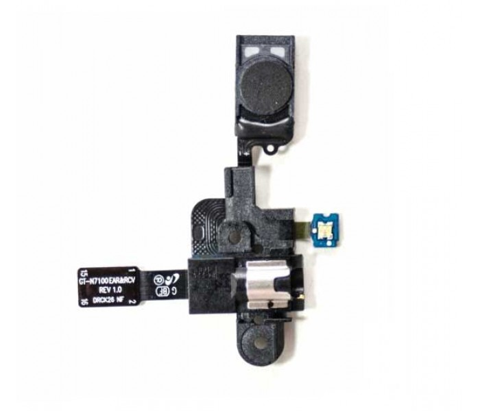 Samsung Galaxy Note 2  Headphone Jack Flex Cable with Ear Speaker