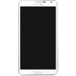 Samsung Galaxy Note 3 LCD Screen Touch Digitizer with Frame (White)