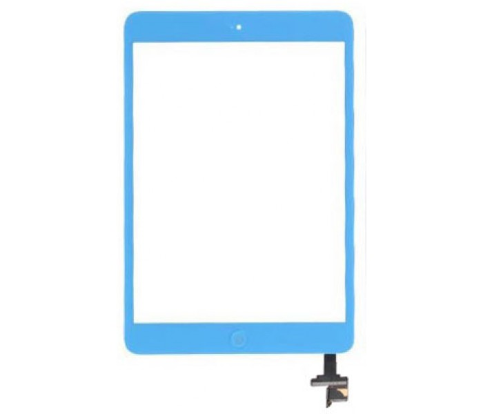 iPad Mini Touch Screen Digitizer with Home Button IC - Blue