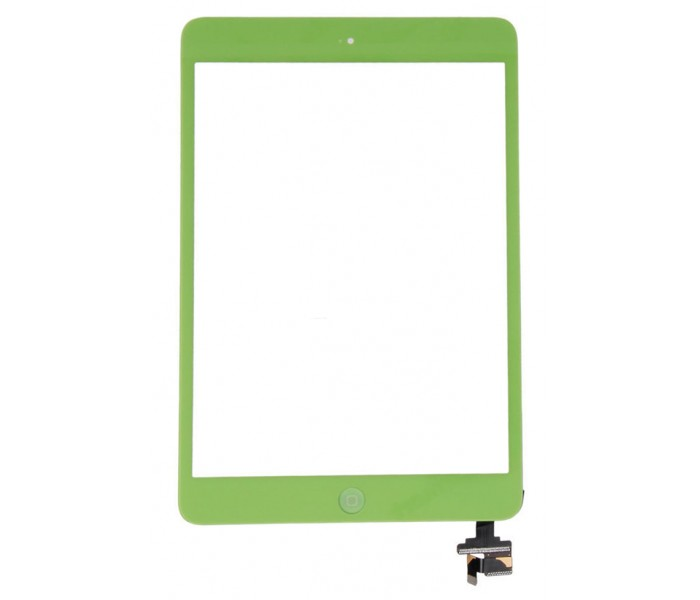 iPad Mini Touch Screen Digitizer with Home Button - Green