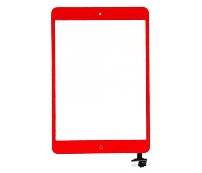 iPad Mini Touch Screen Digitizer Assembly (+ Home Button IC)  - Red