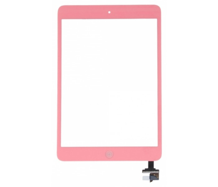 iPad Mini Touch Screen Digitizer Assembly (+ Home Button IC)  - Pink
