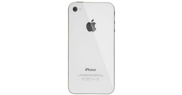 back cover iphone 4 white