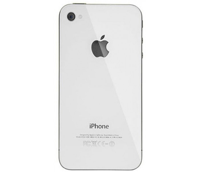 promo code e9387 b70c2 iPhone 4S Back Cover (White)