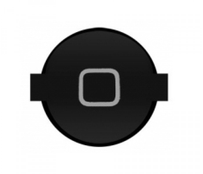 iPad 2 Home Button (Black)