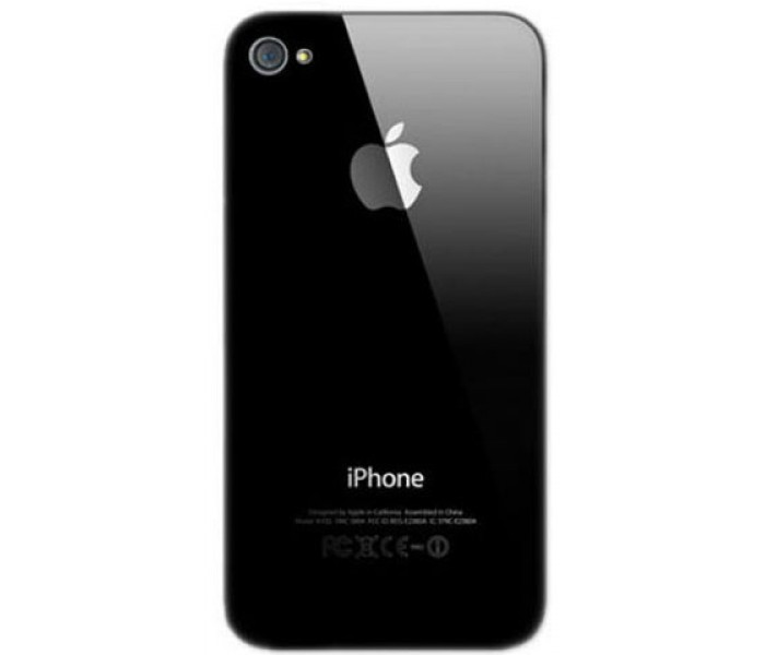new style 34532 4be07 iPhone 4S Back Cover (Black)