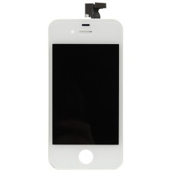 iPhone 4 LCD Screen Display & Touch Digitizer Replacement (White)