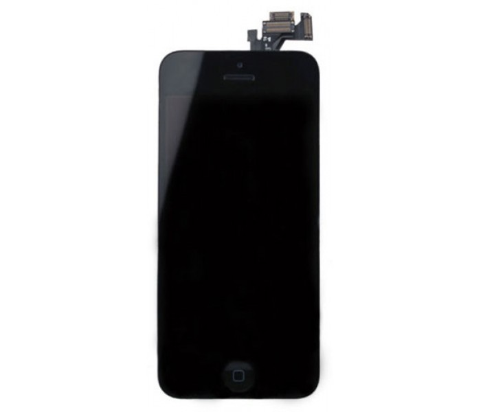 iPhone 5 LCD Screen Full Assembly with Home Button (Black)