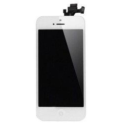 iPhone 5 LCD Screen Touch Digitizer + Camera & Home Button (White)