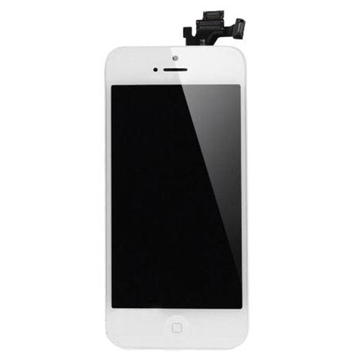 iphone home screen button iphone 5 lcd screen assembly with home button white 15299