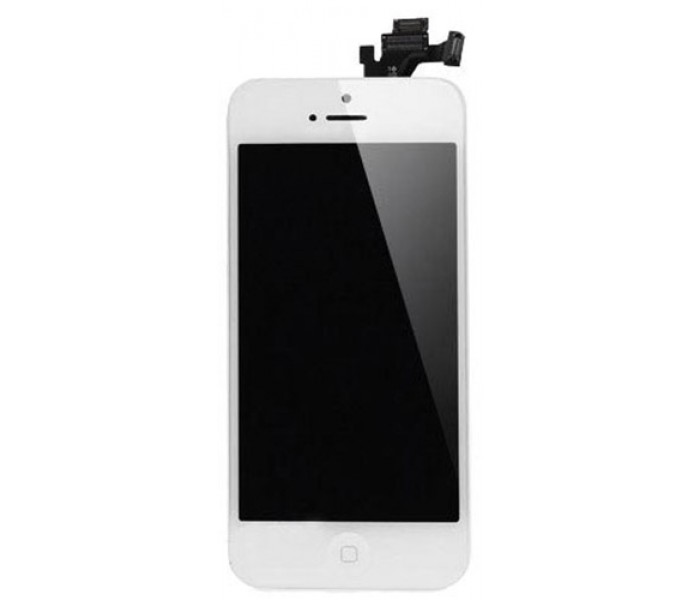 iPhone 5 LCD Screen Full Assembly with Home Button (White) e22271dab7